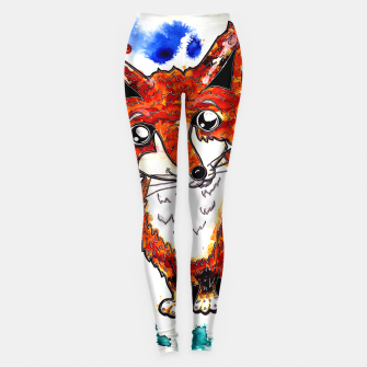 Thumbnail image of Cuterrr Fox Leggings, Live Heroes