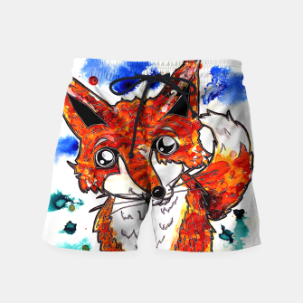 Thumbnail image of Cuterrr Fox Swim Shorts, Live Heroes