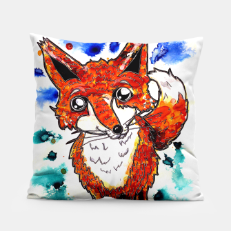 Thumbnail image of Cuterrr Fox Pillow, Live Heroes