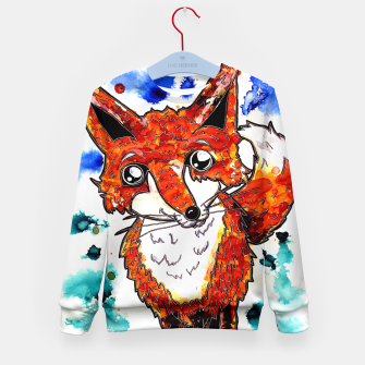 Thumbnail image of Cuterrr Fox Kid's Sweater, Live Heroes