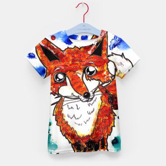Thumbnail image of Cuterrr Fox Kid's T-shirt, Live Heroes
