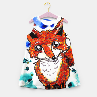 Thumbnail image of Cuterrr Fox Girl's Summer Dress, Live Heroes