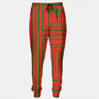 Thumbnail image of Maze (Green) Sweatpants, Live Heroes