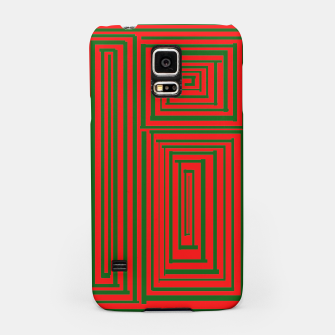 Thumbnail image of Maze (Green) Samsung Case, Live Heroes