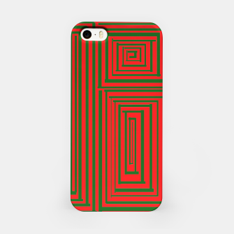Thumbnail image of Maze (Green) iPhone Case, Live Heroes