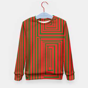 Thumbnail image of Maze (Green) Kid's Sweater, Live Heroes