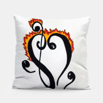 Thumbnail image of Burning Love Pillow, Live Heroes