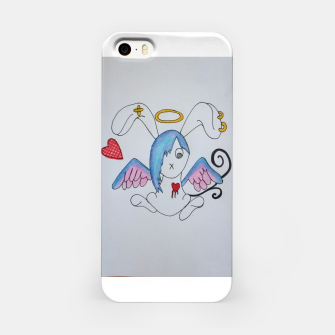 Thumbnail image of Emo Bunny iPhone Case, Live Heroes