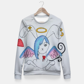 Thumbnail image of Emo Bunny Fitted Waist Sweater, Live Heroes
