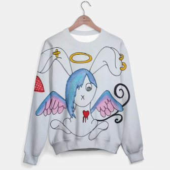 Thumbnail image of Emo Bunny Sweater, Live Heroes