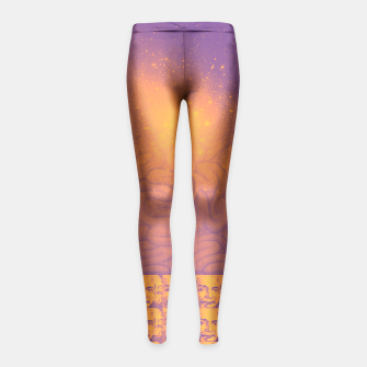Thumbnail image of LSD - BRAIN - SPACE Girl's Leggings, Live Heroes