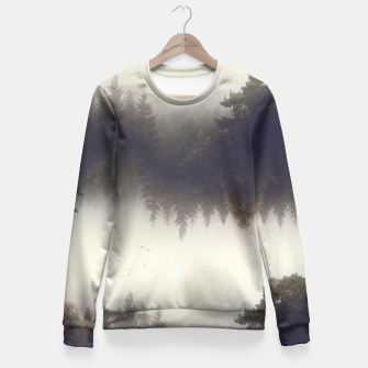 Miniature de image de Forest dreams Fitted Waist Sweater, Live Heroes