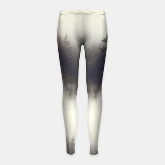 Miniature de image de Forest dreams Girl's Leggings, Live Heroes