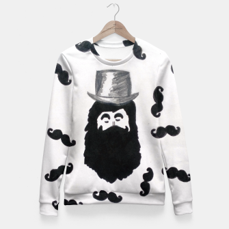 Thumbnail image of NoShavember Inspired Fitted Waist Sweater, Live Heroes