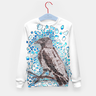 Thumbnail image of Crow Kid's Sweater, Live Heroes