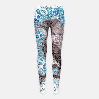 Thumbnail image of Crow Girl's Leggings, Live Heroes