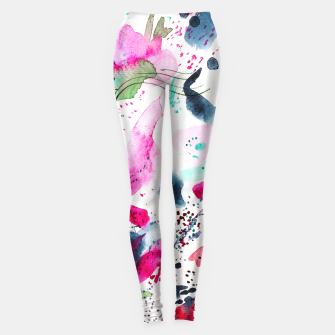 Miniaturka Floral abstraction  Leggings, Live Heroes