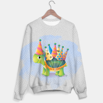 Thumbnail image of Birthday Turtle Sweater, Live Heroes