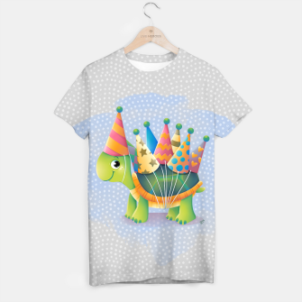 Thumbnail image of Birthday Turtle T-shirt, Live Heroes