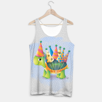 Thumbnail image of Birthday Turtle Tank Top, Live Heroes