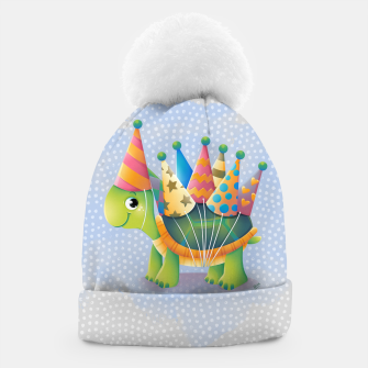 Thumbnail image of Birthday Turtle Beanie, Live Heroes