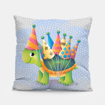Thumbnail image of Birthday Turtle Pillow, Live Heroes
