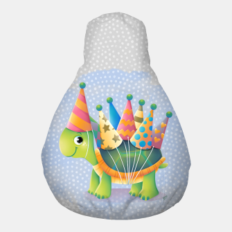 Thumbnail image of Birthday Turtle Pouf, Live Heroes