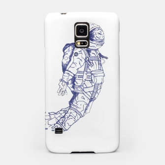Thumbnail image of Geometric Spaceman Samsung Case, Live Heroes