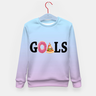 Thumbnail image of Goals Kid's Sweater, Live Heroes