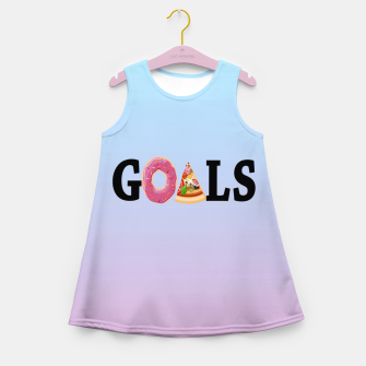 Thumbnail image of Goals Girl's Summer Dress, Live Heroes