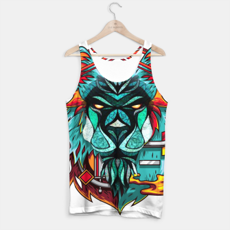 Miniaturka Mechanic Lion World  Tank Top, Live Heroes