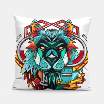 Miniaturka Mechanic Lion World  Pillow, Live Heroes