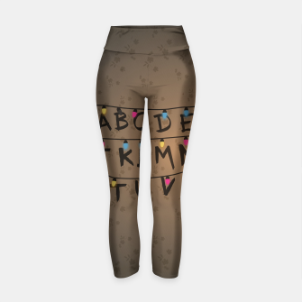 Thumbnail image of Stranger Things Yoga Pants, Live Heroes