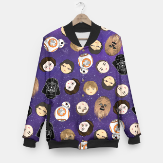 Thumbnail image of Star W pattern Baseball Jacket, Live Heroes