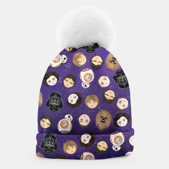 Thumbnail image of Star W pattern Beanie, Live Heroes