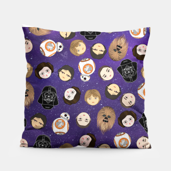 Thumbnail image of Star W pattern Pillow, Live Heroes