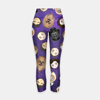 Thumbnail image of Star W pattern Yoga Pants, Live Heroes