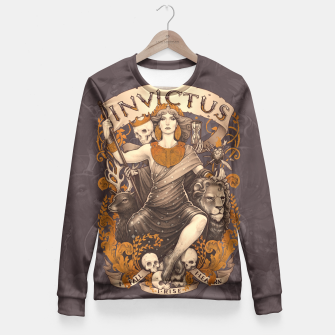 Thumbnail image of Design Fitted Waist Sweater, Live Heroes