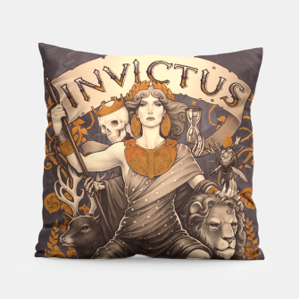 Thumbnail image of Design Pillow, Live Heroes