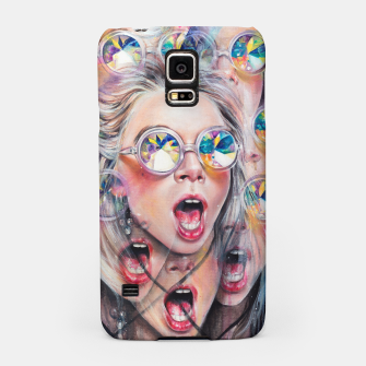 Thumbnail image of Kaleidoscopic Perception Samsung Case, Live Heroes