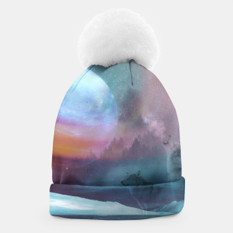 Thumbnail image of Howling at the moon Beanie, Live Heroes