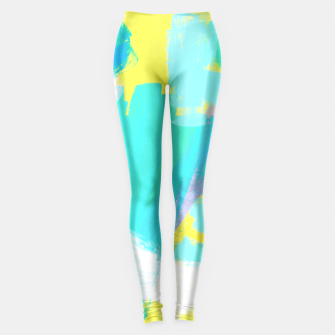 Thumbnail image of BE UNIQUE AND BE YOURSELF Leggings, Live Heroes