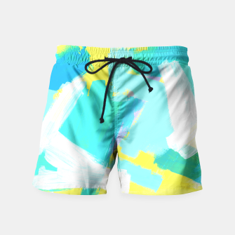 Thumbnail image of BE UNIQUE AND BE YOURSELF Swim Shorts, Live Heroes