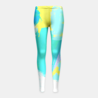 Miniaturka BE UNIQUE AND BE YOURSELF Girl's Leggings, Live Heroes