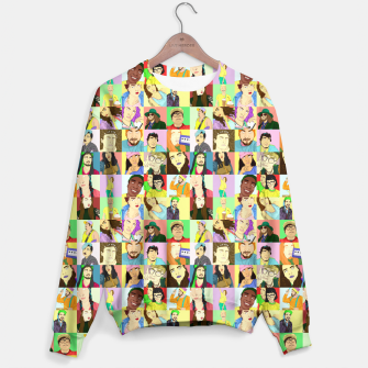 Miniatur Collective Portraits Sweater, Live Heroes