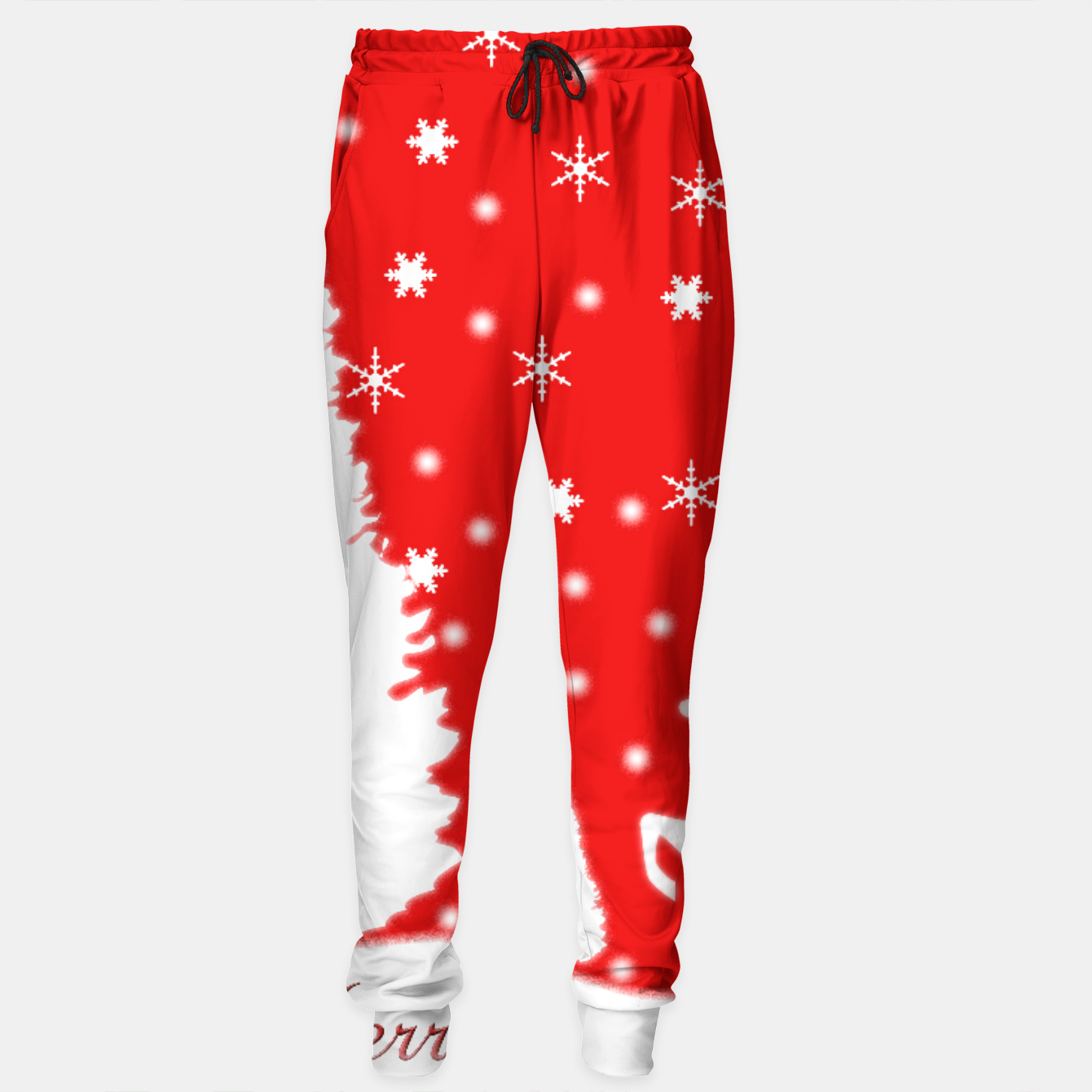 309f076189349 Merry Christmas Winter Snowflakes Sweatpants Zm, Live Heroes