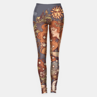 Thumbnail image of COSMIC LOVER Leggings, Live Heroes