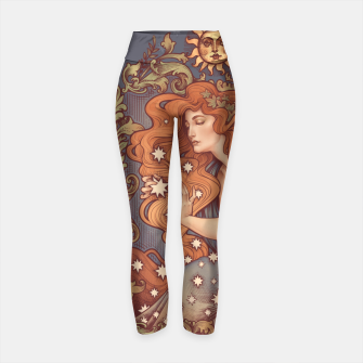 Thumbnail image of COSMIC LOVER Yoga Pants, Live Heroes