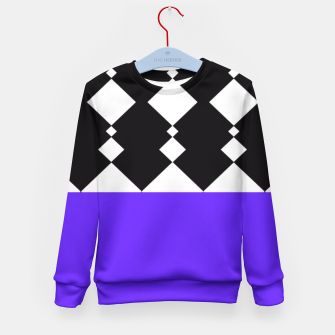 Thumbnail image of Merged (Block) Kid's Sweater, Live Heroes