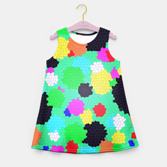 Thumbnail image of Colours  Girl's Summer Dress, Live Heroes